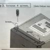 Левые петли для холодильника R-BG410PUC6XGS (Hitachi) 5522