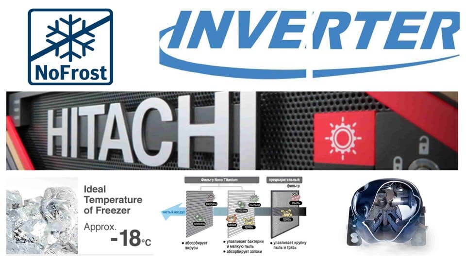tehnology_MyCollages3 Раскрытие совершенства: самая передовая технология охлаждения Hitachi