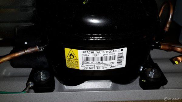 Японский инверторный компрессор (двигатель) Hitachi