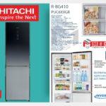 Сравнение двухкамерных холодильников Хитачи R-B410PUC6, R-BG410PUC6 и R-BG410PUC6Х