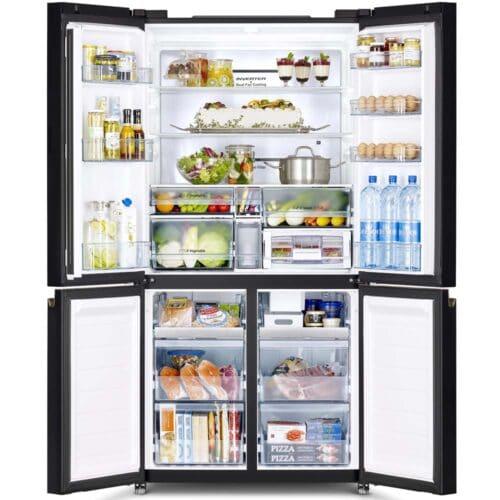 French_Bottom_Freezer_4door_Deluxe_07-500x500 Холодильник Hitachi R-WB720VUC0GBK и WB720VUC0GMG