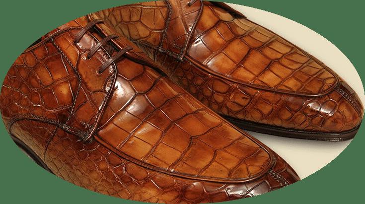 alligator-skin-leather-shoes Использование холодильника не по назначению