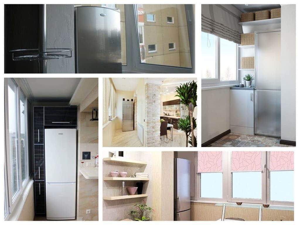 na_bolkone_Collages Можно ли ставить холодильник на балконе / в не отапливаемом помещении