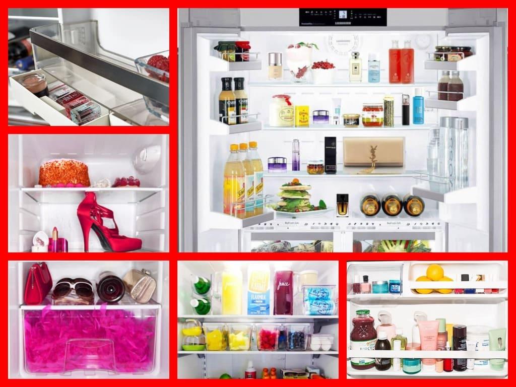 veschi_in_holodilnik_MyCollages Использование холодильника не по назначению