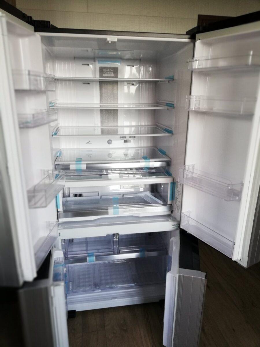 HITACHI_R-WB730PUC5XGR_grey_bez3-900x1200 Как занести на кухню большой холодильник