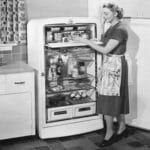 Первые бытовые холодильники