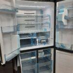 Многодверный холодильник HITACHI R-WB720VUC0Gmg в открытом состоянии